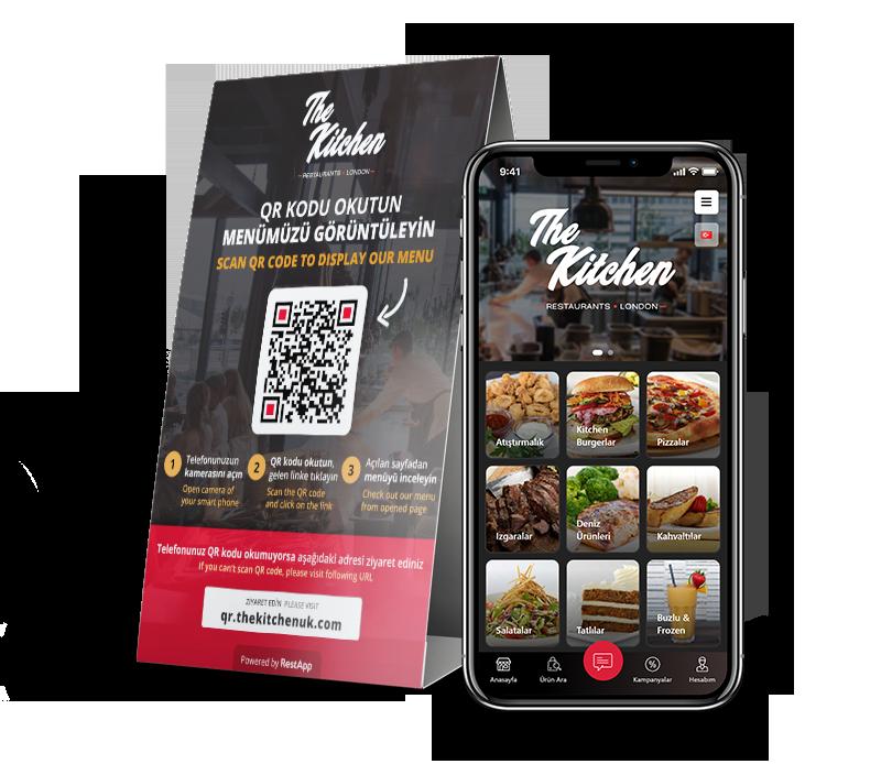 E-Menü - Restoranlar için Dijital Menü – RestApp